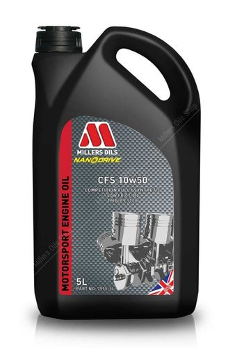 MILLERS OIL CFS 10W-50, моторное масло, 5л